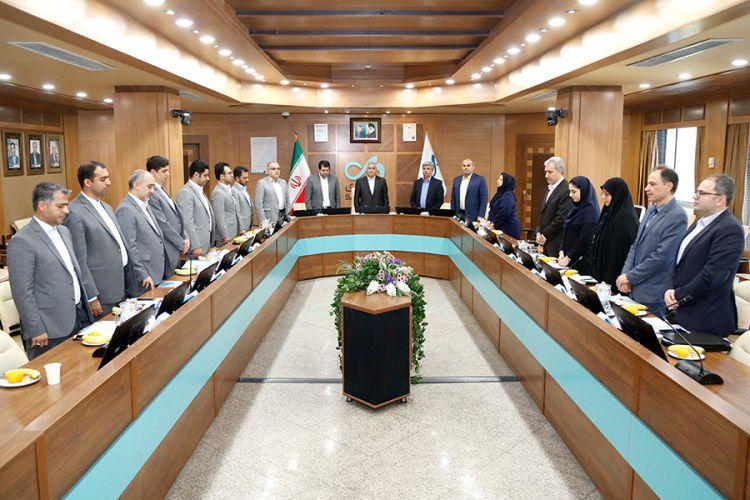 ارزیابی جایزه ملی تعالی منابع انسانی در بانک دی برگزار شد
