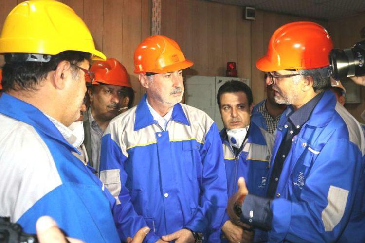 فعالیتهای مجتمع فولاد بناب در سال رونق تولید تحسین برانگیز است