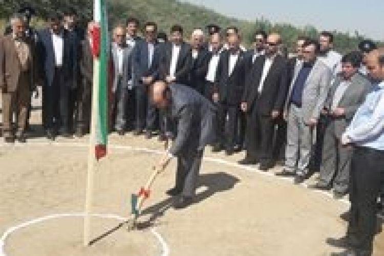 کلنگزنی طرح انتقال پساب تصفیهخانه خینعرب به غرب مشهد