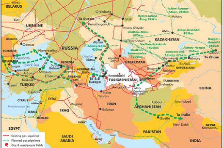 ایران از قافله فروشندگان گاز به اروپا جا ماند