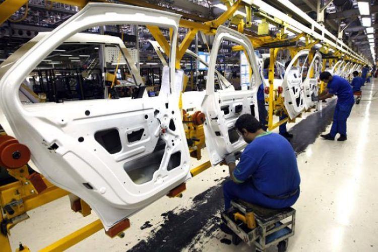 تولید انواع خودرو 40 درصد افت کرد