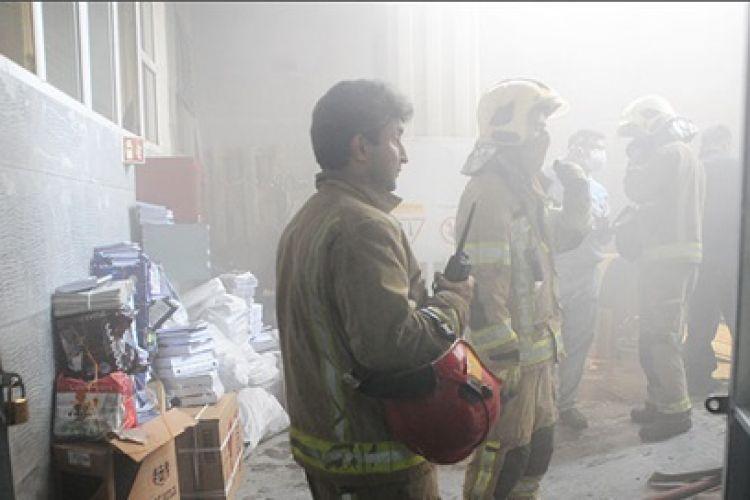 آتش سوزی جزئی در ساختمان مرکزی جدید شرکت ملی نفت اطفا شد