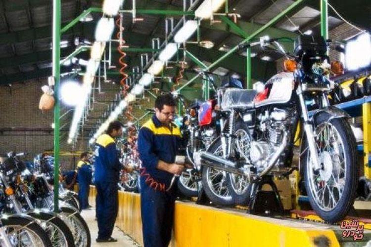 تولید موتورسیکلتهای بدون یورو 4 متوقف شد
