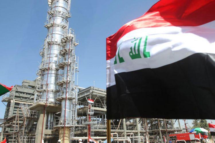 کمبود بنزین در عراق/تحصن معترضین مقابل پالایشگاه ناصریه