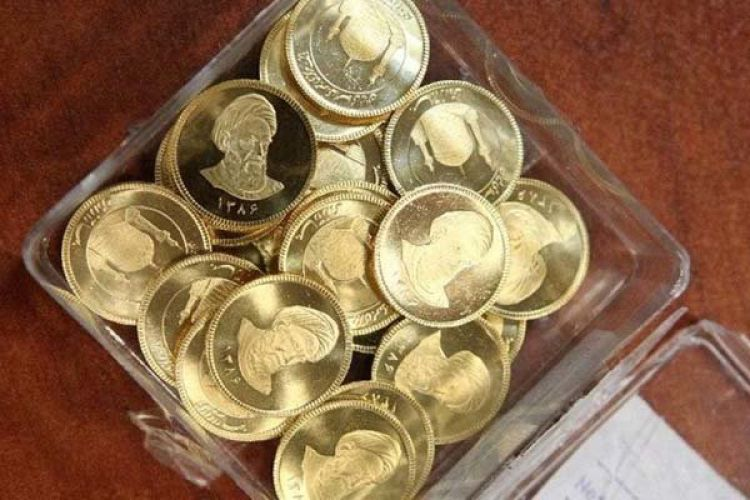 قیمت سکه 22 آبان 1399 به 12 میلیون و 950 هزار تومان رسید