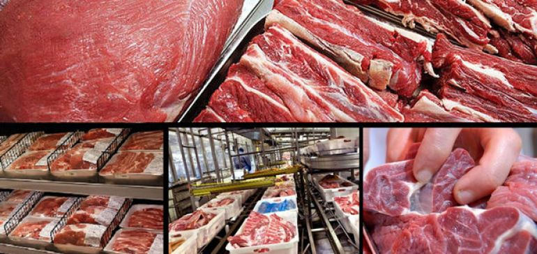توقف عرضه گوشت تنظیم بازاری در میادین میوه و ترهبار