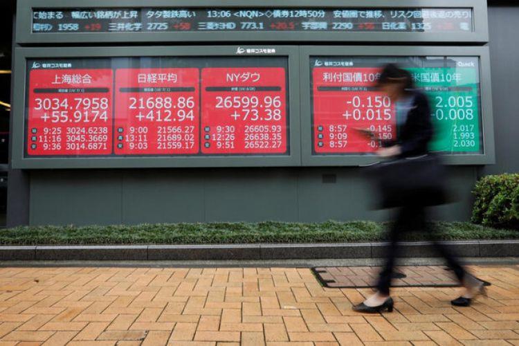 سهام آسیایی تا بالاترین سطح 6 هفتهای خود رشد کرد