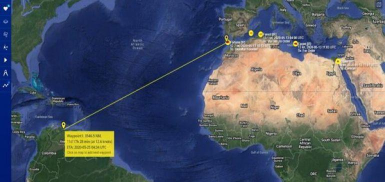 نفتکش های ایرانی به دریای کارائیب رسیدهاند