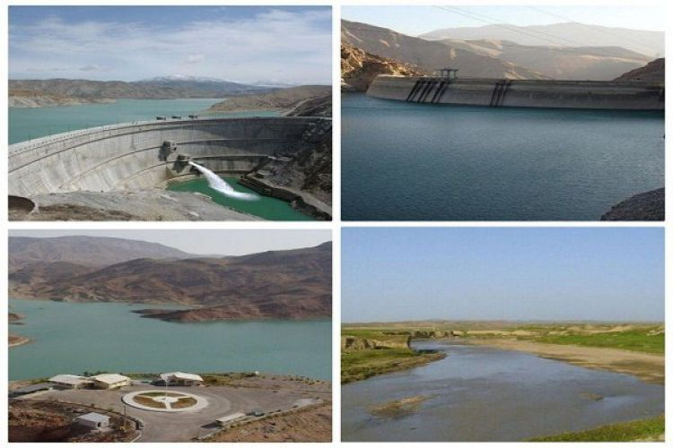 کاهش 43 درصدی آب مخزن سد زایندهرود/پرشدگی 58 درصدی سدهای 10 گانه