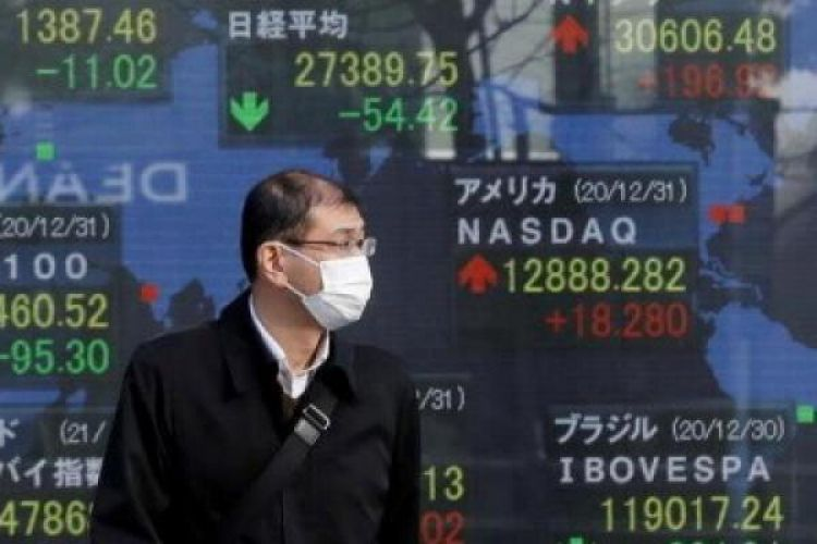 افت سهام آسیایی با وحشت از موج جدید کرونا