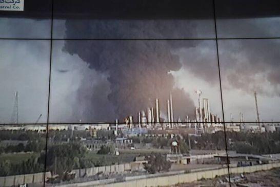 آتش سوزی تنها در یک مخزن گازوئیل پالایشگاه تهران است/ حریق سرایت نکرد
