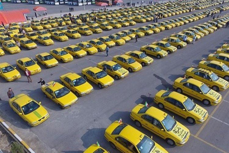 نوسازی 2 هزار و 500 تاکسی فرسوده تبریز با حمایت بانک شهر