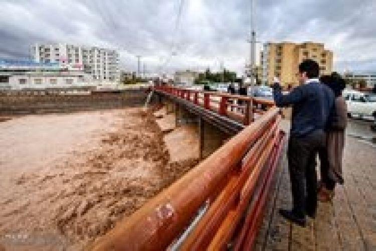 احتمال وقوع سیلاب در رودخانهها و مسیلهای استان