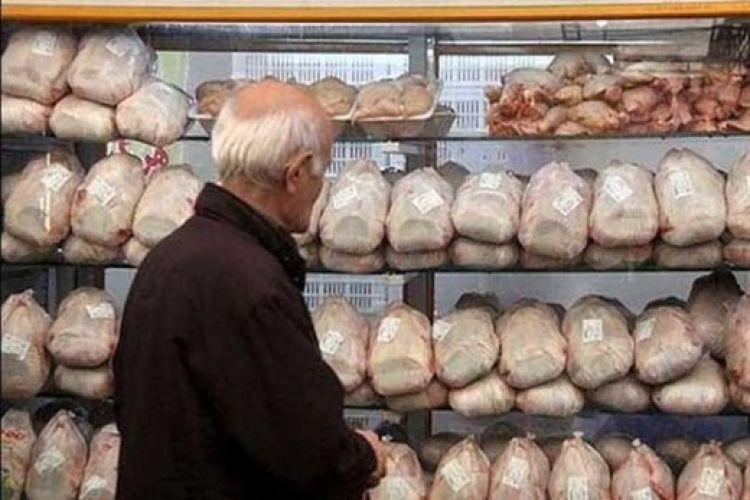 نرخ مرغ روی 12.000 تومان ماند