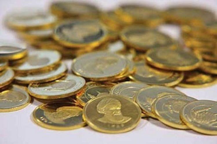 کاهش 7000 تومانی قیمت نیمسکه در بازار