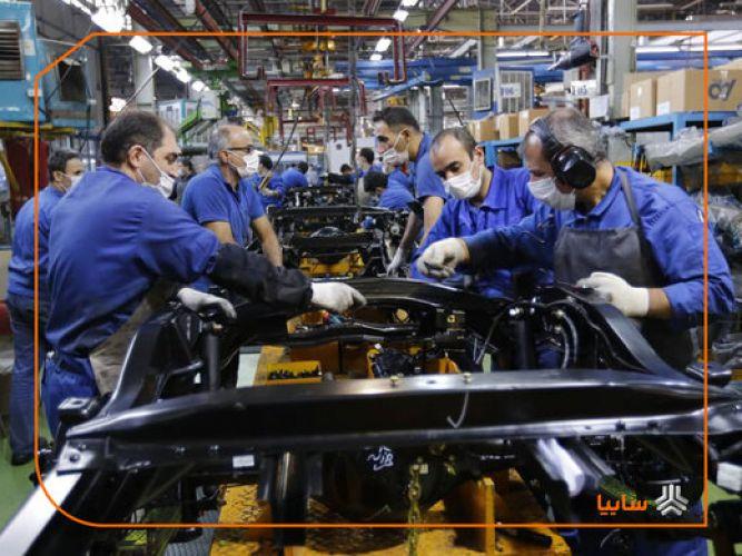 افزایش تولید سایپا در سال تحریم و کرونا/ تولید بیش از 420 هزار دستگاه خودرو در سال 99