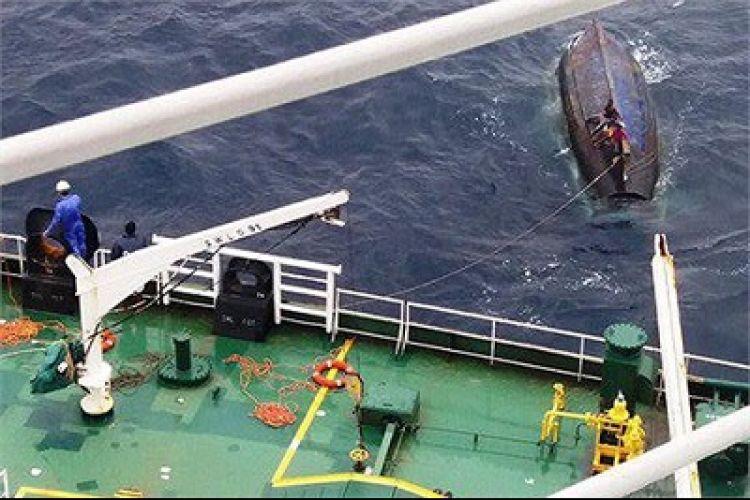 نفتکش ایرانی 5 ماهیگیر سریلانکایی را نجات داد