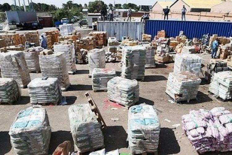 900 میلیون تومان کالای قاچاق امحاء شد