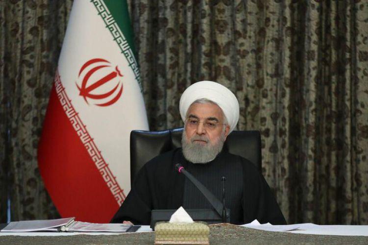 روحانی: نمیتوانیم تولید را در کشور تعطیل کنیم