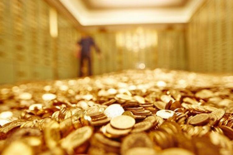طلا آرام گرفت