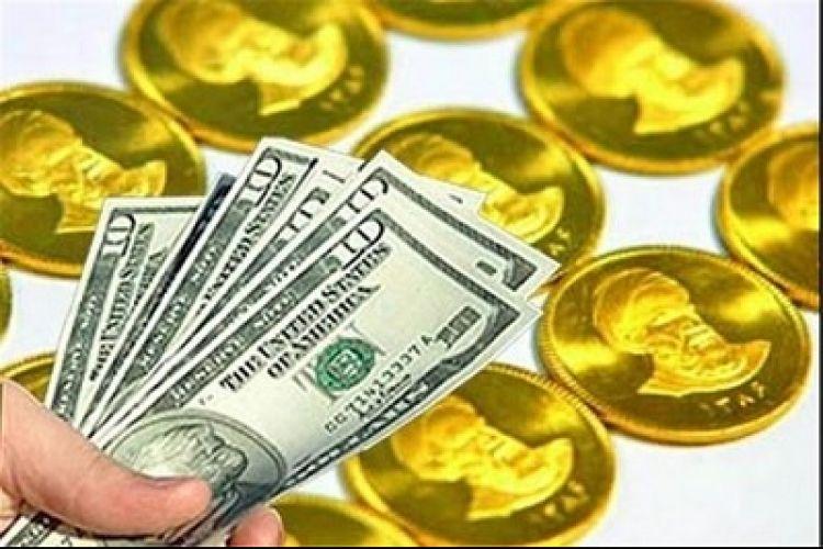 ریزش قیمت سکه و یورو در بازار