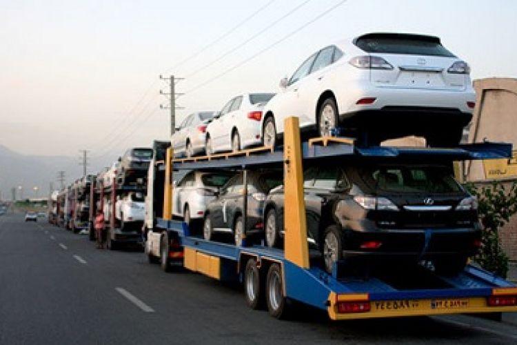 عرضه خودروهای وارداتی متوقف شد!