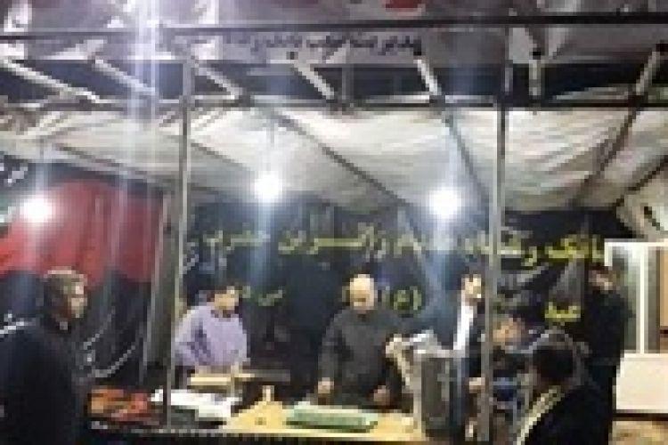 برپایی موکب بانک رفاه در استان کرمانشاه