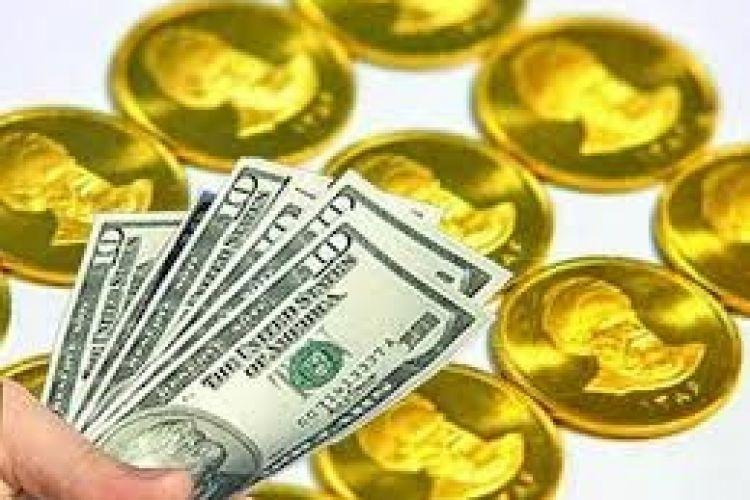 افزایش قیمت سکه تمام و دلار در بازار