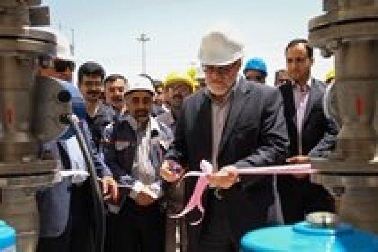 سامانههای خنک کاری هوای ورودی توربینهای گازی نیروگاه مشهد افتتاح شد