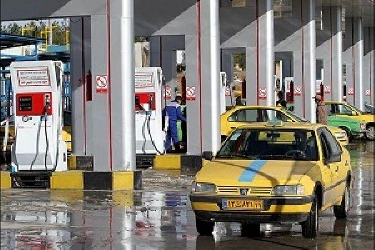 215 مخزن CNG غیراستاندارد خودرو در تهران معدوم شد