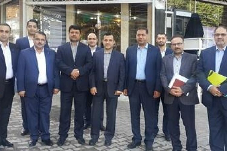 بازدید مدیران ارشد بانک قرض الحسنه مهر از مدیریت شعب گلستان