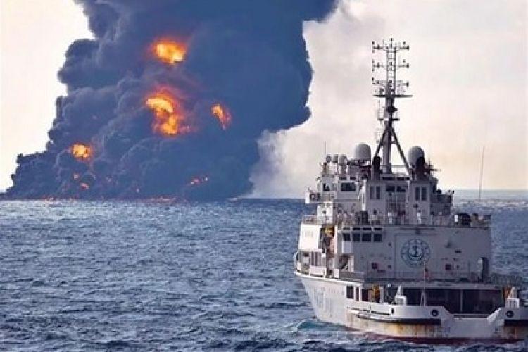 برخورد مقاومترین بخش کشتی چینی به سانچی عمدی بود