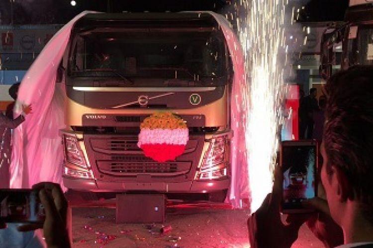 کامیون جدید ولووFM کشنده رونمایی شد