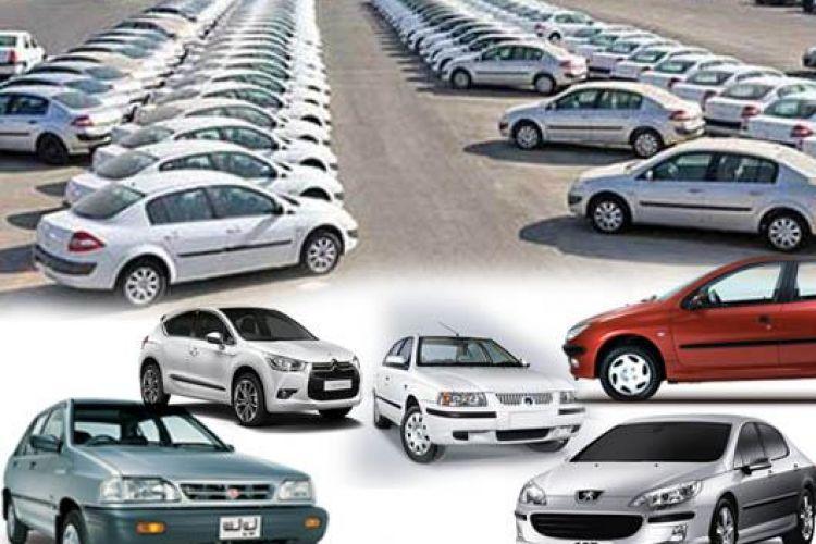 قیمت بدون تغییر برخی خودروهای داخلی در بازارجدول