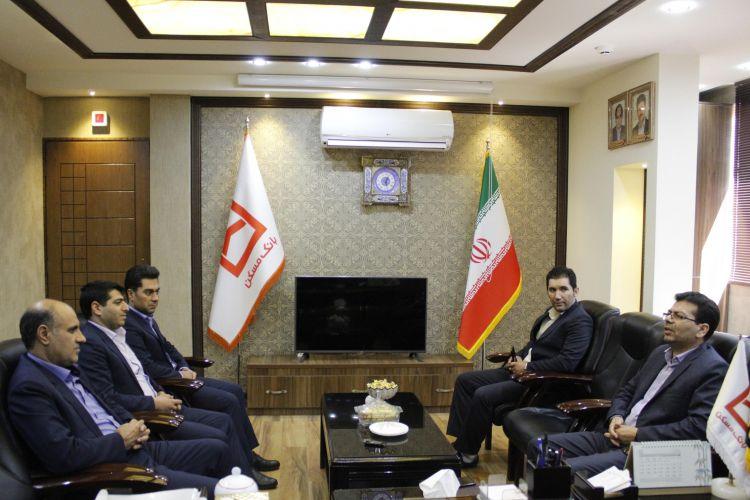 دیدار ناظر پولی بانک مرکزی در استان یزد با مدیر شعب استان
