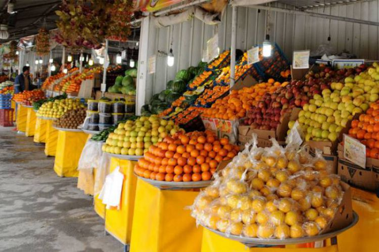 قیمت عمده فروش انواع میوه و صیفی