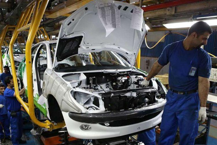 رشد 19.1 درصدی تولید خودروی سواری در سال 99